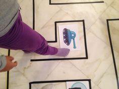 """Επιδαπέδιος λαβύρινθος με αφορμή το """"Πολυτεχνείο"""" - Kinderella Frame, Decor, Picture Frame, Decoration, Decorating, Frames, Deco"""