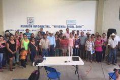 Concá Arroyo Seco, 26 de agosto de 2016. Con la finalidad coordinar y promover el programa de vivienda que se...