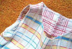 Kleider - Kleid Vintage Leinen, Tunika Kleid, Strandkleid - ein Designerstück von Talaura bei DaWanda