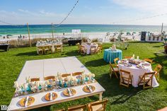 Beachside East Green - One of our Beach Wedding Packages we offer at the Henderson Park Inn