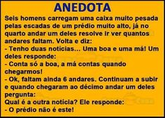 Post #FALASÉRIO! : ANEDOTA DO DIA !