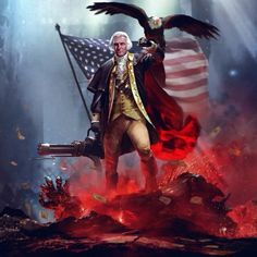 Patriot, Patriotism, Home of the Brave, George Washington, Leadership, Bald Eagle