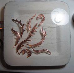 Adding copper wire & copper foil