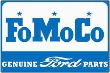 Ford Motor Company Vintage Retro Metal Sign