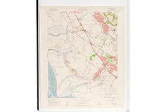 1960s Map V