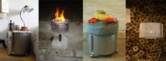 15 recycled washing machine drum projects