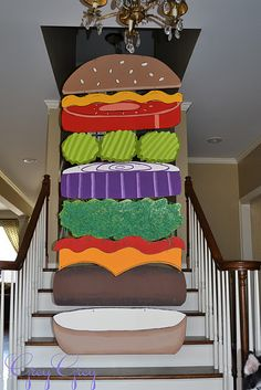 If you love hamburgers then you will definitely love this party!