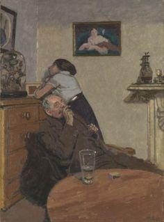Walter Richard Sickert (Angleterre, 1860-1942) – Ennui (ca 1914) Tate Museum, Londres