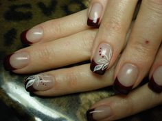 Nail-Art-rotes-French
