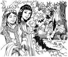 Scene from florante at laura story