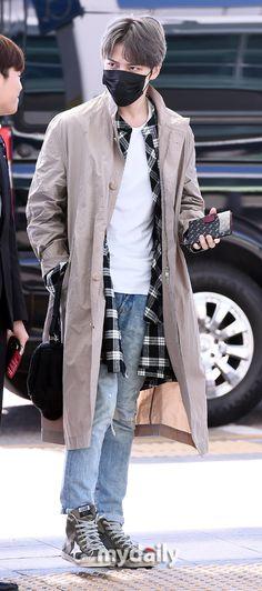 #170310 #Jaejoong at Incheon heading to #Hongkong