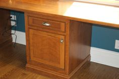 #Cherrywood counter