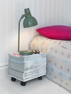 Alternatief nachtkastje