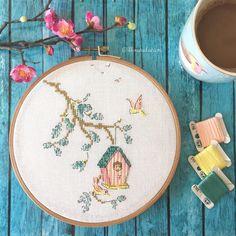 Helene Le Berre cross stitch