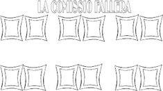 DIRIGIENDO MANITAS: fallas Valencia, Blue Prints, Manualidades