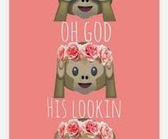 Afbeeldingsresultaat voor emoji tumblr aapje