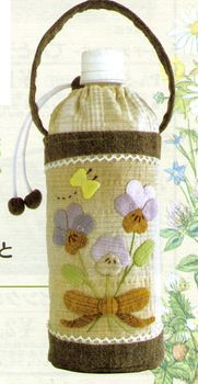 "Rakuten: A patchwork kit ""pansy and yellow butterfly of the plastic bottle case purple"" [オリムパス] [patchwork kit] [RCP1209mara] [RCP]- Shopping Japanese products from Japan"