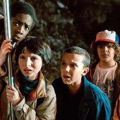 """Things are going to get even STRANGER on #StrangerThings. All the major characters (Joyce, Mike, Dustin) are set to return, but """"we don't know about Eleven. We leave that up in the air,"""" says Ross Duffer. And expect four new characters and a slightly larger scope as well! Who's excited for season 2?! : #Netflix"""