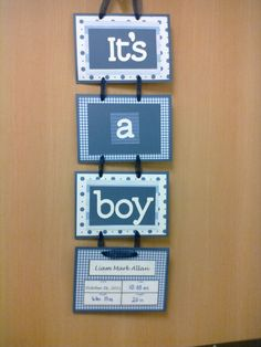 I saw this on a hospital door when David was born. Baby Decor, Baby Shower Decorations, Baby Kranz, Baby Boy Wreath, Baby Wreaths, Hospital Door Hangers, Baby Door Hangers, Best Baby Gifts, Baby Sprinkle