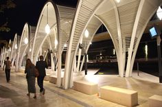 Bus Station in Aix en Provence, France. Architectural project: AREP. Lighting products: iGuzzini illuminazione. Picture courtesy of AREP #iGuzzini #Lighting #Light #Luce #Lumière #Licht  #Inspiration #Architecture #Architettura #Effetti #LightingEffect #CustomProduct #Design