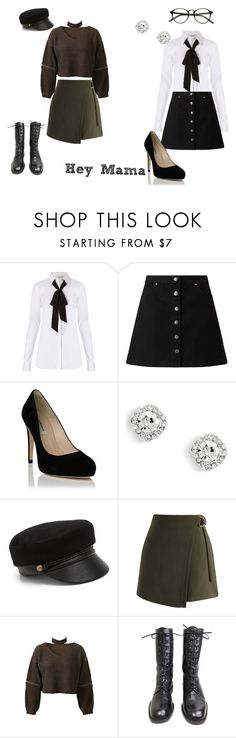 """EXO-CBX Hey Mama"" by k-popcloset on Polyvore featuring Diane Von Furstenberg, Miss Selfridge, Eugenia Kim, Chicwish and WithChic"