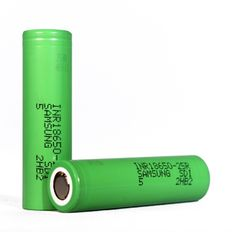Samsung 25R 18650 Battery - Lithium Ion Rechargeable -18650 Battery Store
