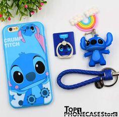 Wallpaper Iphone Disney Stitch Cute Phone Cases Ideas For 2019 Cheap Iphone 7 Cases, Iphone 6 Plus Case, Iphone Phone Cases, Iphone 8, Cute Cases, Cute Phone Cases, Disney Phone Cases, Accessoires Iphone, Cheap Iphones