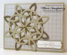 Lattice Snowflake Card