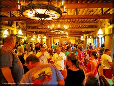 Whispering Canyon Cafe, Disney's Wilderness Lodge. Three Picks for Family Fun Dining (without characters) at Walt Disney World Resort, from Word on the Street: A Disney Travel Blog. http://1923mainstreet.com/blog/three-picks-family-fun-dining-without-characters-walt-disney-world-resort/