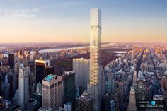432 Park Avenue, the new tower in New York by architect Rafael Viñoly, This will be the tallest building in the Western Hemisphere when complete in 2015 432 Park Avenue, Empire State Building, Chrysler Building, Louvre Abu Dhabi, Dubai, Luxury Penthouse, Best Architects, High Rise Building, East Village