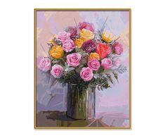 Schilderen op nummer - Bos rozen - Schipper