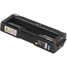 Compatible Replacement for Ricoh 406047 (406096) Cyan Laser Toner Cartridge