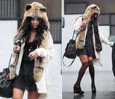 I have this Red Wolf Spirit Hood and love it, looking for cute outfits to wear it with