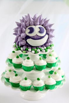Little Big Company | The Blog: Moshi Monsters themed birthday by Crumbs of Comfort Cake Design