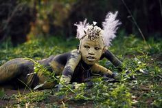 Omo Tribes Ethiopia Body Painting