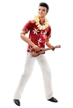 Elvis® in Blue Hawaii Doll | Barbie Collector, 2010