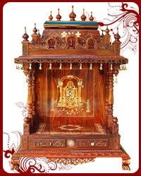 Amazon.com: Hindu temple puja mandir sculptures for the home: Home ...