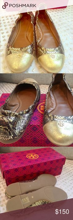 This are Tory Burch original size 7 They are just beautiful and comfortable, brand new I order online and got the wrong size I had the box sorry no duster bag. Tory Burch Shoes Flats & Loafers