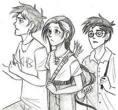 Percy, Katniss, and Harry. My three favorites!!!!
