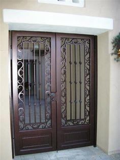 ornate metal security doors - Google Search