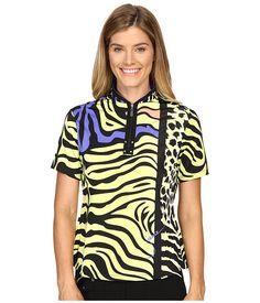 Jamie Sadock Animal Print Short Sleeve Top