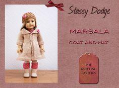 Knitting pattern for American Girl dolls