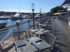 This waterfront restaurant in East Greenwich offers everything from fantastic food, to live music and outdoor fire pits. Find it at 20 Water Street.