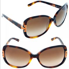 Tory Burch TY7022 Amber Tortoise Orange Sunglasses STYLE: TORY BURCH TY 7022 936/13  COLOR: AMBER TORTOISE FRAME/BROWN GRADIENT SUNGALSSES  ORIGIN: CHINA  SIZE: 59mm X 17mm X 130mm  GENDER: FEMALE  THESE SUNGLASSES ARE 100% AUTHENTIC OR YOUR MONEY BACK GUARANTEED!! THIS WILL COME IN ITS ORIGINAL CASE AND MANUFACTURERS PAPERS. IF YOU HAVE ANY QUESTIONS OR INQUIRIES OF ANY SORT, DON'T HESITATE TO MESSAGE ME. Tory Burch Accessories Sunglasses