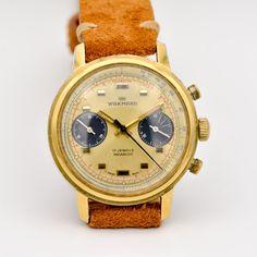 Wakmann ref. Vintage Watches, Times, How To Wear, Antique Watches, Vintage Clocks