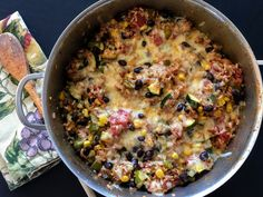 Fast & easy one-pot vegetarian meal