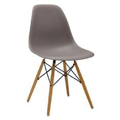 Charles & Ray EAMES DSW Eiffel Dining Chair - Mauve GREY