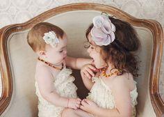 Natural Linen and Silk Flower Hair Clip by RosalindGraceDesigns, $20.00