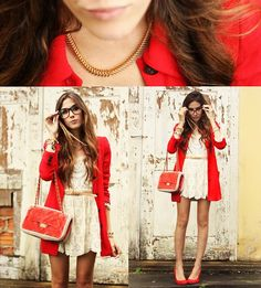 Like a lady! (by Flávia Desgranges van der Linden) http://lookbook.nu/look/4684975-Like-a-lady