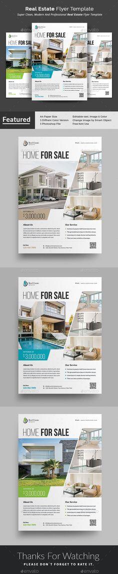 4744 Best Flyer Templates Images On Pinterest Real Estate Flyers